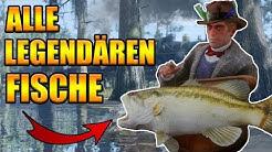 Alle legendären Fische Red Dead Redemption 2 deutsch