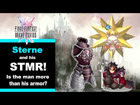 Final Fantasy Brave Exvius - Unit Reviews, Guides, Rotations - How To Use Sterne!