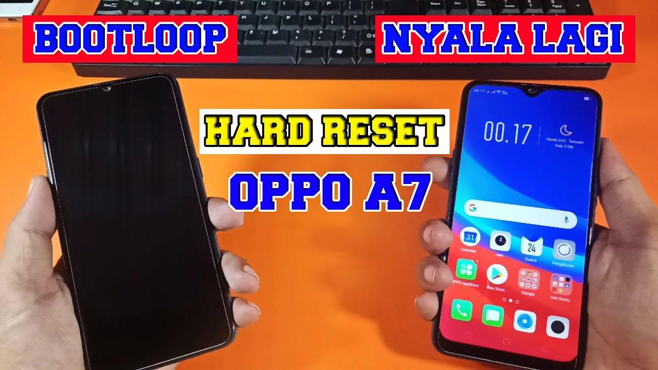Riset Oppo A7 Tanpa Pc - reset oppo a7 lupa sandi - YouTube