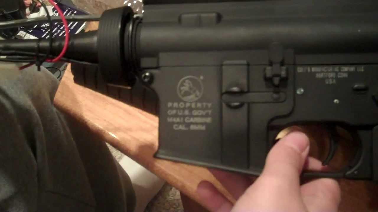 rifle airsoft m4a1 full metal