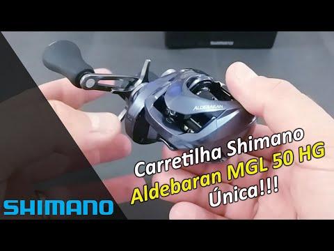 Carretilha Shimano Aldebaran MGL 50HG - SIMPLISMENTE ESPETACULAR!!!!!