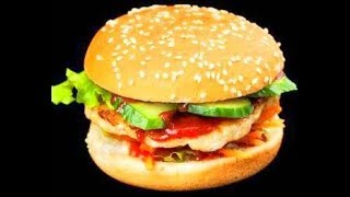 Veggie Burger Recipe / How to make Veggie Burger/ Mc Donald