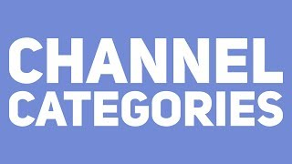 Channel Categories thumbnail