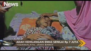 Seorang Nenek di Tasikmalaya Dianaya & Dirampok Orang Tak Dikenal - Police Line 01/10