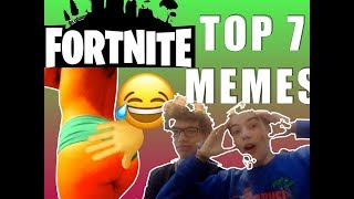 Meme Review - Fortnite Top 7 memes (only real gamers will get them) 2018