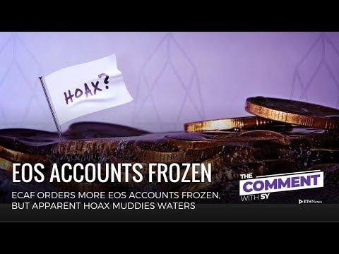 EOS Freezes Accounts, Bahamas Announcement, Diamond Offshore Drilling | The Comment | Episode 146