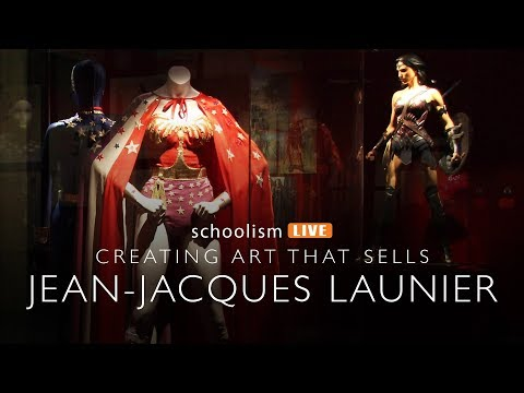 Creating art that sells with Jean-Jacque Launier