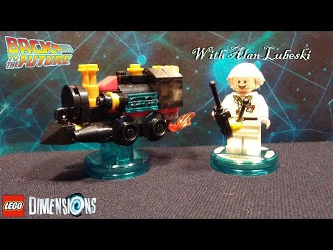🌀Lego Dimensions ~ Back To The Future ~ Doc Brown ~ Traveling Time Train ~ 71230