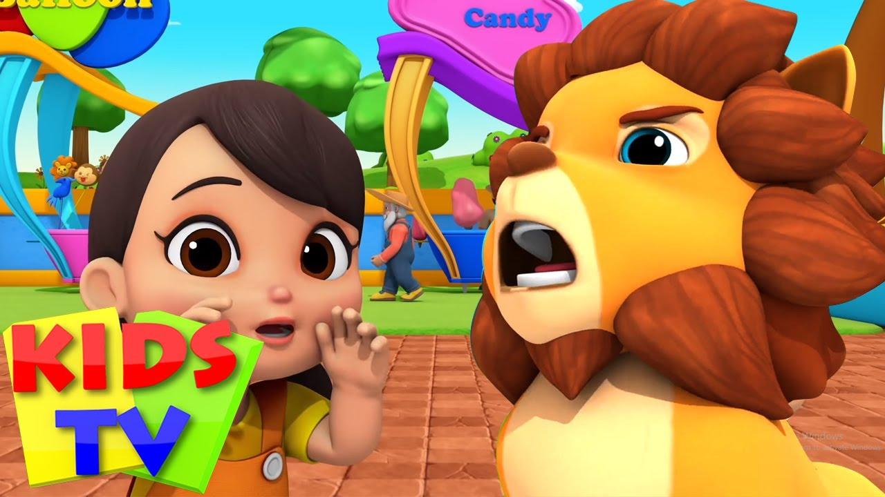 Hayvanat bahçesi Şarkı | Eğitim karikatürler | Kids TV Türkçe | Animasyonlu videolar | Tekerlemeler