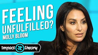 The Real Woman Behind Molly's Game on How to Reach True Fulfillment  | Molly Bloom on Impact Theory