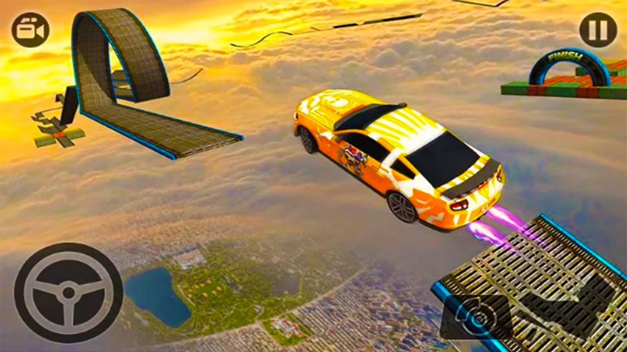 Car Stunts: Impossible Stunt Car Tracks 3D