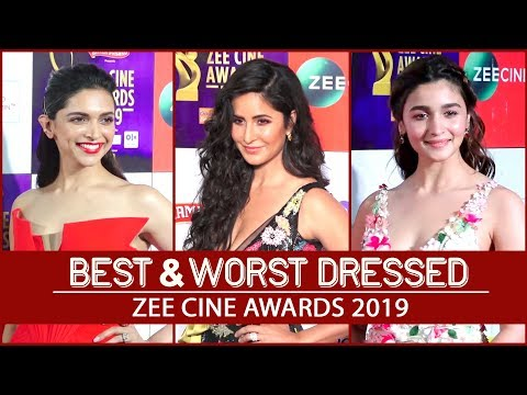 Deepika Padukone, Alia Bhatt, Katrina Kaif: Best and worst dressed Zee Cine Awards 2019 | Fashion