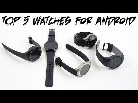 Top 5 Smartwatches for Android June 2017: Gear S3 vs Android Wear
