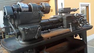 Токарный Станок Boley&Leinen L4Z. Реставрация- Часть 1