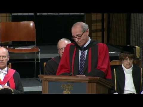 Lord Justice Goldring - Honorary Degree - University of Leicester