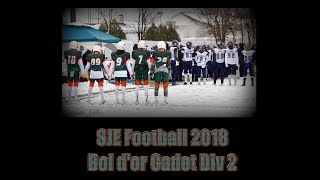 SJE Football 2018 : Bol d'or RSEQ Cadet Div2 Condors Vs Maraudeurs