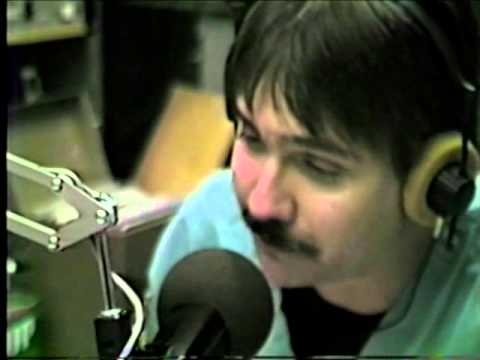 KROQ Freddy Snakeskin On Air, circa 1982