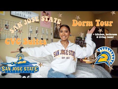 DORM ROOM TOUR! San Jose State University (CVC Suites)