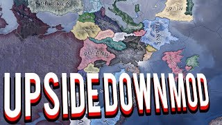UPSIDE DOWN MOD IN HEARTS OF IRON 4 HOI4 MOD