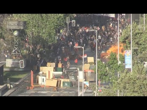 Violence erupts after Chilean President Pinera's cabinet reshuffle