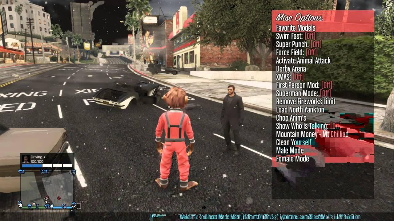 Xbox 360 GTA 5 126 OnlineOffline Mod Menu Download