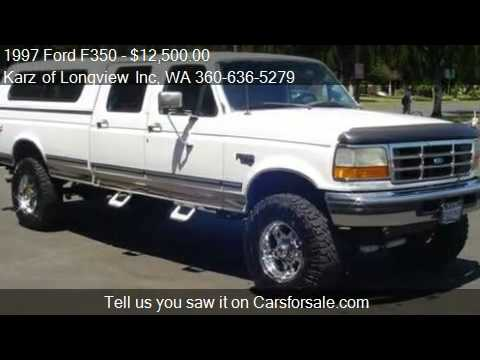 1997 ford f350 xlt pkg powerstroke diesel for sale in lon youtube. Black Bedroom Furniture Sets. Home Design Ideas