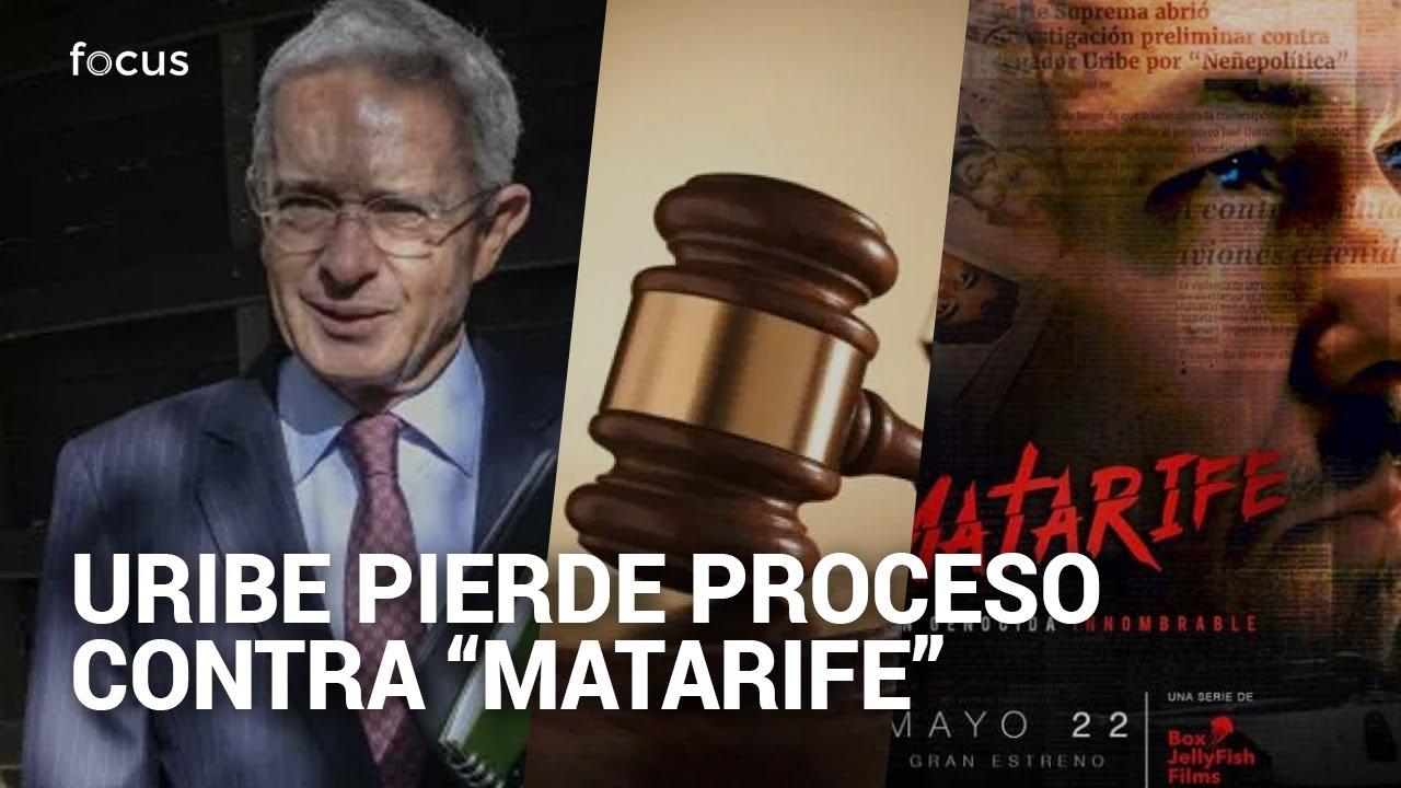 """Álvaro Uribe perdió tutela contra autor de la serie """"Matarife"""""""