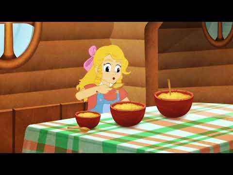 Три медведя и златовласка мультфильм смотреть онлайн бесплатно