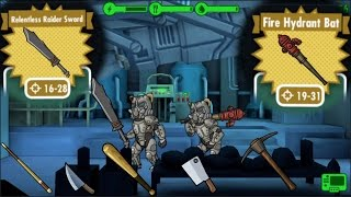FALLOUT SHELTER - ALL MELEE WEAPONS