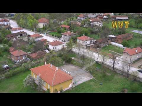 Село Пчелин от въздуха