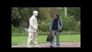 Repeat youtube video Hidden Camera very funny statue move