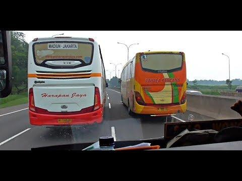 """ADU GENGSI  Sudiro Tungga Jaya """"Mekka"""" melibas semua bis di depannya"""