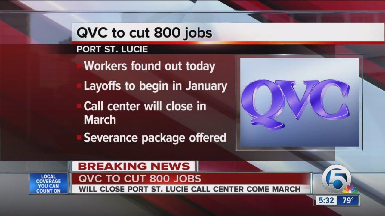 QVC to cut 800 jobs - YouTube