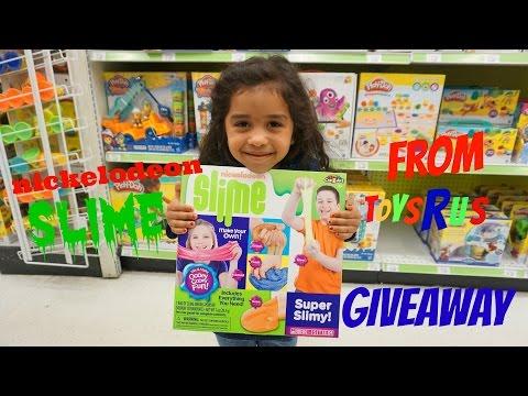 Giveaway!!! Nickelodeon Slime At