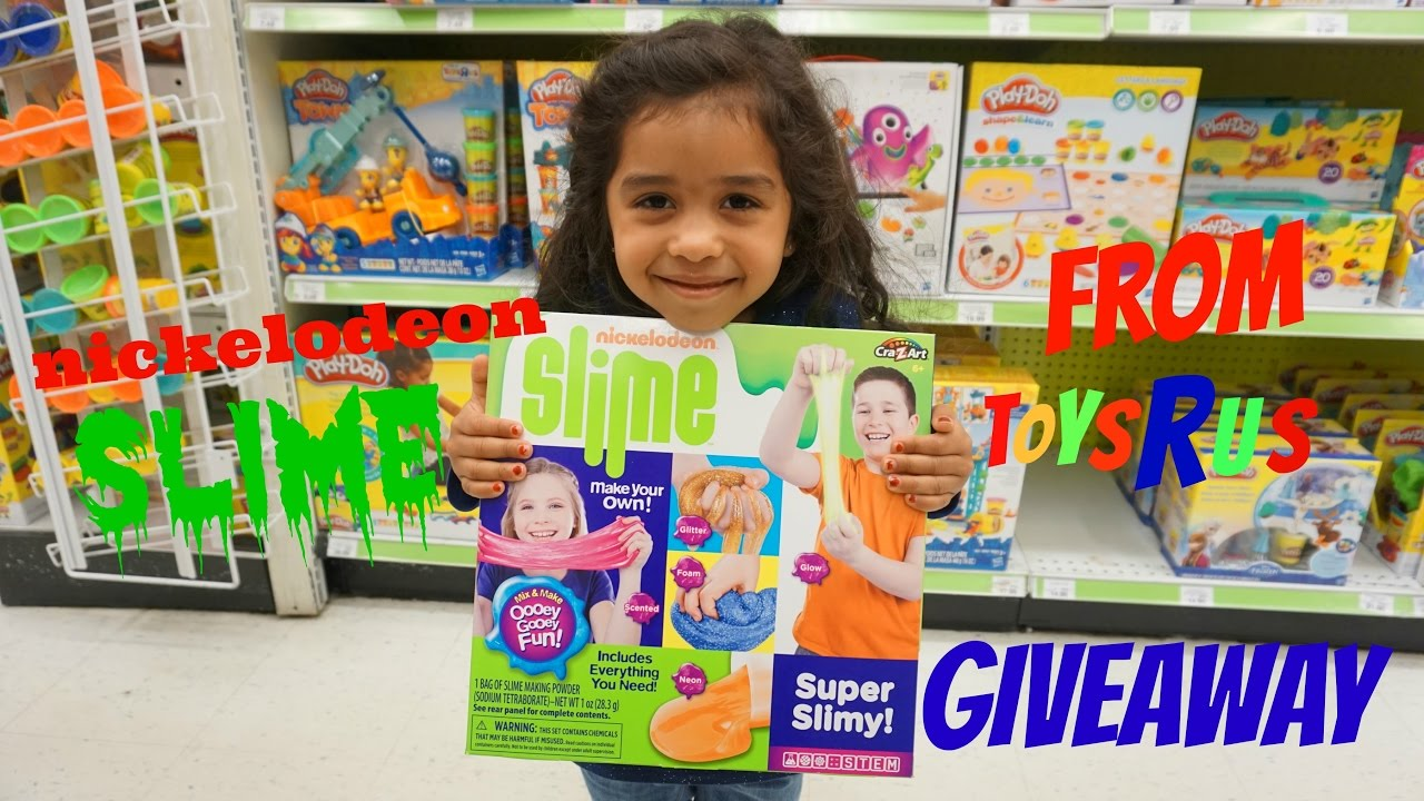 Giveaway!!! Nickelodeon slime at