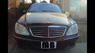 Mercedes Benz W220 S CLASS