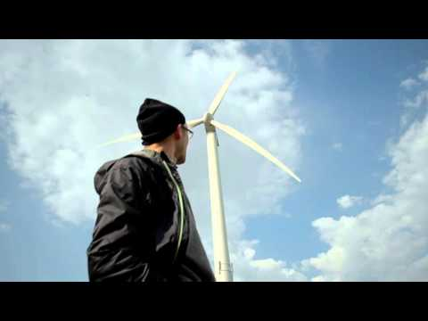 Wind Turbine Sound - High Quality Audio