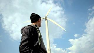 Wind turbine sound - high quality audio