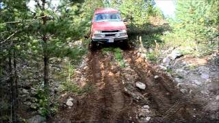 Chevrolet Suburban lifted 35inch tyres
