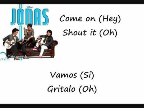 Hey You- Jonas Brothers (Letra en español e ingles)