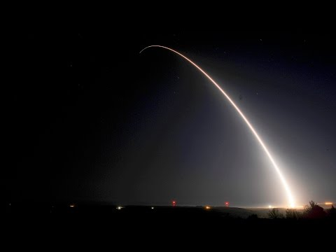 Minuteman III ICBM Test Launch