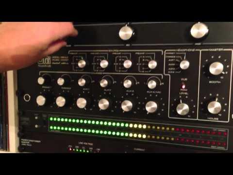 Urei 1620LE and E&S X3004 Isolator