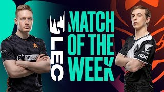 Gambar cover #LEC Match of the Week | G2 vs FNC | SAT August 3rd