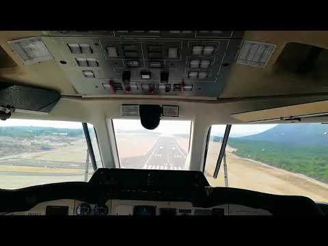 [Cockpit View] BAe Jetstream J32 landing at Dubrovnik Airport