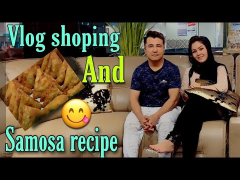 # vlog shopping # samosa recipe