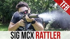 The SIG MCX Rattler Review ft. the SIG SRD 762Ti Silencer