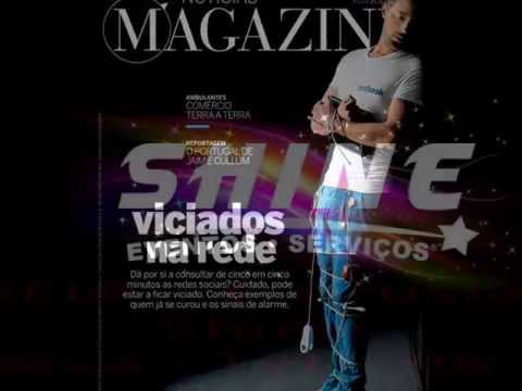 Bruno Correia - VICIADOS NA REDE- Capa Noticias Magazine ( Making Off )