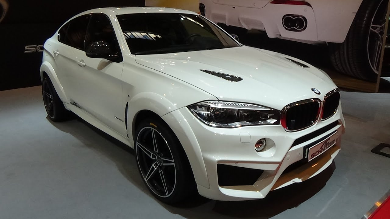 2016 Bmw X6 Xdrive 30d By Ac Schnitzer Exterior And
