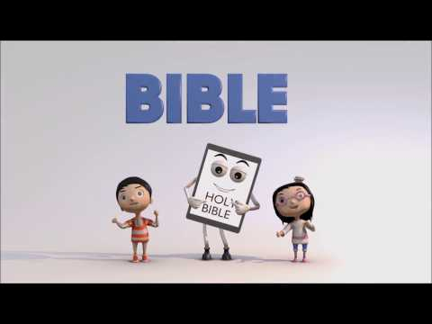 The Bible Song Karaoke | Christian Baby Bounce 3D Animation | Children Sunday School Song