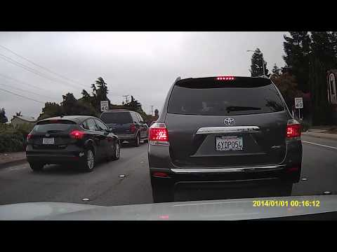 Morning rush from Union City to Sunnyvale California
